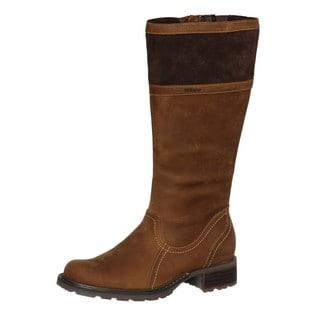 Sebago Women's 'Saranac High' Light Brown Leather Boots