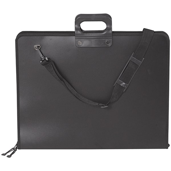 Martin Black Pro-2 Portfolio with Carrying Handle and Shoulder Strap