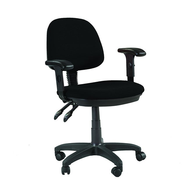 Overstock.com Martin Feng Shui Desk Height Chair in Black at Sears.com