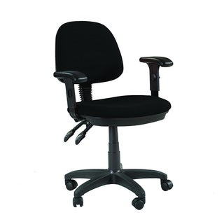 Martin Feng Shui Desk Height Chair in Black