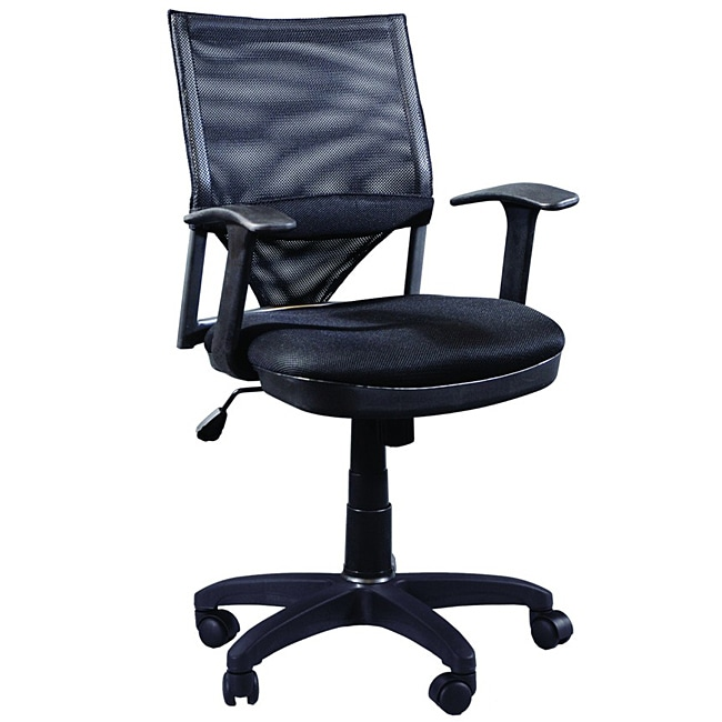 Martin Comfort Mesh Desk Height Chair Overstock Shopping  : Martin Comfort Mesh Desk Height Chair L13816774 <strong>Vintage Leather</strong> Office Chair from www.overstock.com size 650 x 650 jpeg 42kB