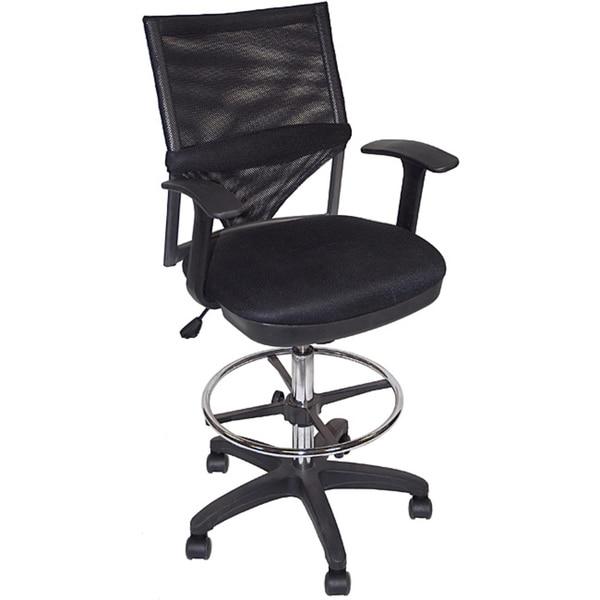 Martin Comfort Mesh Drafting Height Chair