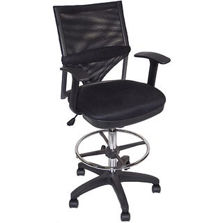 Martin Comfort Mesh Drafting Height Chair