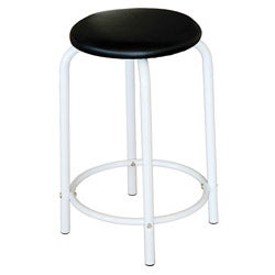 Martin Ashley White Studio Stool