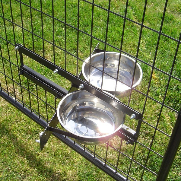 Lucky Dog Revolving Dog Bowl System