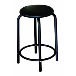 Martin Ashley Black Studio Stool