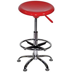 Martin Red Artisan Drafting Stool