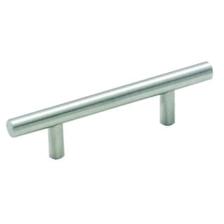 Amerock 3-inch Stainless Steel Bar Pulls (Pack of 5)