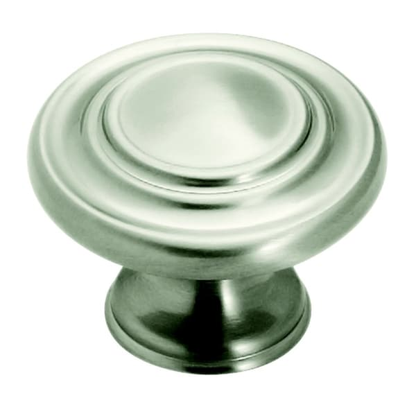 Amerock Satin Nickel Three-ring Inspiration Knobs (Pack of 10)