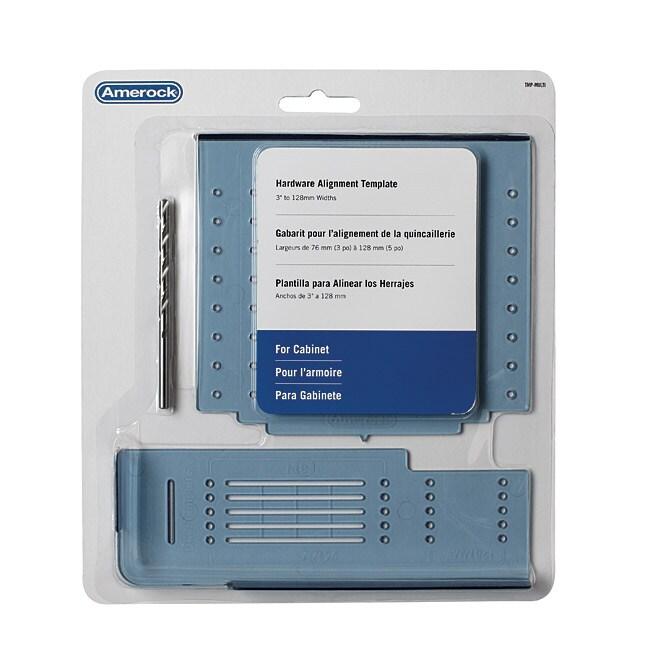 Amerock Cabinet Hardware Mounting Template