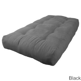 Blazing Needles Vitality Micro Suede Fabric 10-inch Twin-size Futon Mattress
