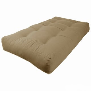 Blazing Needles Renewal Twin 10-inch Twill Futon Mattress