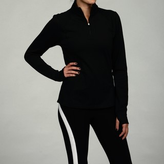 Calvin Klein Performance Women's Black Half-zip Pullover Jacket