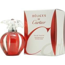 Cartier Delices de Cartier Women's 1-ounce Eau de Toilette Spray