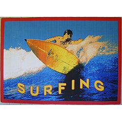 Surfing Area Rug (5' x 8')