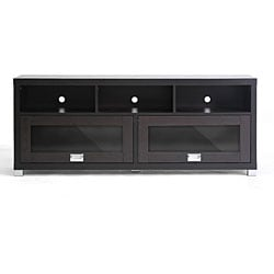 Swindon Modern TV Stand with Glass Doors