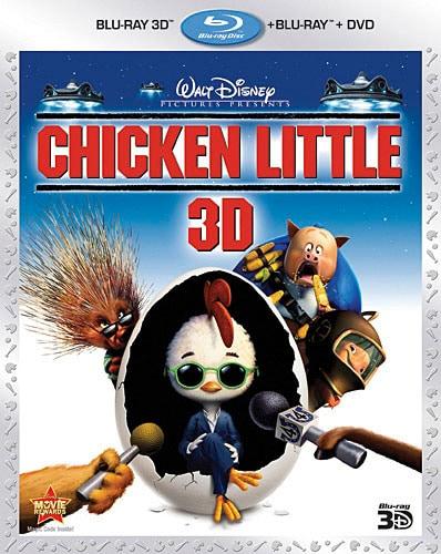 Chicken Little 3D (Blu-ray/DVD)