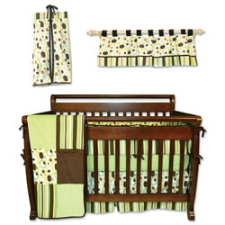 Trend Lab Giggles 6-piece Crib Bedding Set