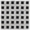 Somertile Reflections Cubic Classic Glass/ Stone Mosaic Tiles (Pack of 10)