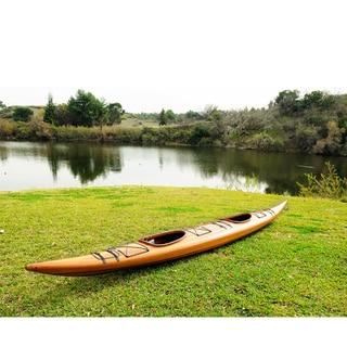Old Modern Handicrafts 19-ft Two-person Red Cedar Kayak