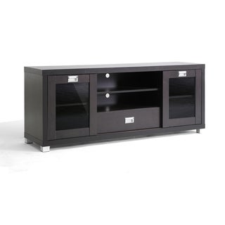 Matlock Modern Glass Door TV Stand