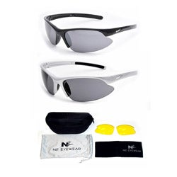N2 Men's 'Partial' Polarized Sports Sunglasses