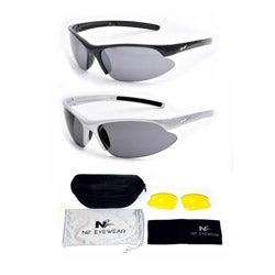 N2 Men's 'Partial' Polarized Sports Sunglasses