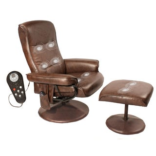 Comfort Relaxzen 8-motor Massage Recliner