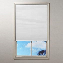 White Blackout Cordless Cellular Shade