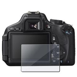 Clear Self-adhering Screen Protector for Canon EOS 600D/T3i/Kiss X5