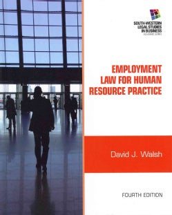 Employment Law for Human Resource Practice (Hardcover)