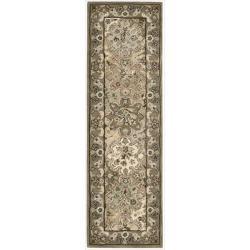 "Nourison Hand-Tufted Caspian Multicolor Wool Runner Rug (2'3"" x 7'6"")"