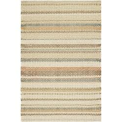 Hand-made Reversible Quilt Cottage Multi Wool Rug (3' x 5')