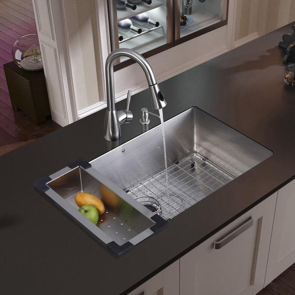 Beautiful Vigo Undermount Stainless Steel Kitchen Sink Faucet Colander Grid. Vigo  Undermount Stainless Steel Kitchen Sink Faucet Colander Grid.