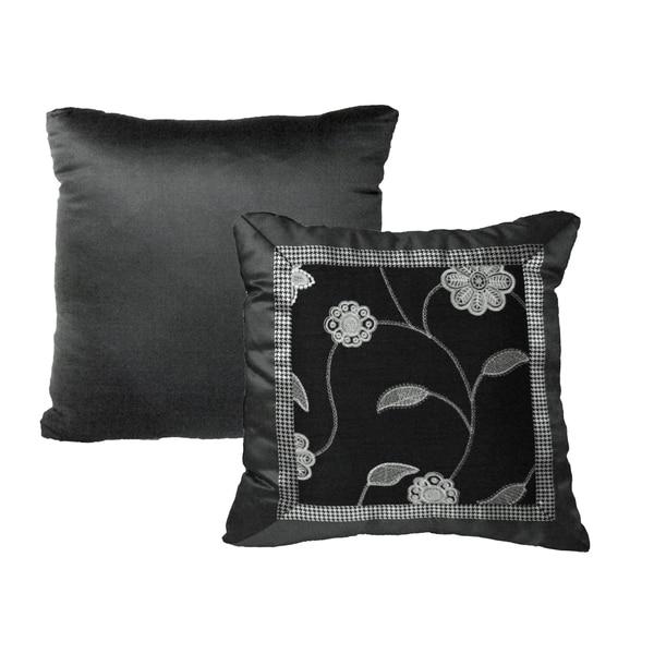 Rose Tree Plaza Decoratvie Throw Pillow