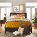 TRIBECCA HOME Sophie Tufted King Upholstered Bed