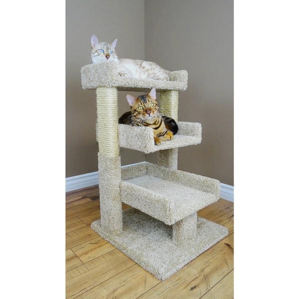 New Cat Condos 33-inch Triple Cat Perch