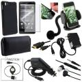 Case/ Screen Protector/ Charger/ Cable Set for Motorola MB810