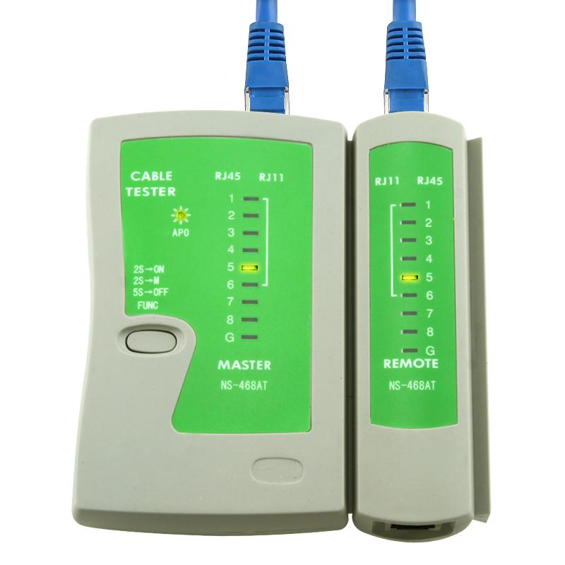INSTEN Ethernet RJ-45/ Phone RJ-11 Cable Tester