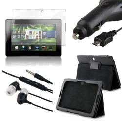 INSTEN Phone Case Cover/ Screen Protector/ Car Charger/ Headset for BlackBerry Playbook