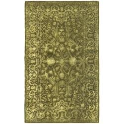 Safavieh Handmade Silk Road Majestic Sage New Zealand Wool Rug (3' x 5')