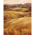Marianne Broome 'Across the Fields II' Gallery-wrapped Canvas Art