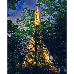 "Stewart Parr ""Paris, France - Eiffel Tower"" Unframed Photo Print"