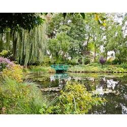 "Stewart Parr ""France - Monet gardens with bridge prominent"" Unframed Photo Print"