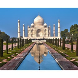 Stewart Parr 'Agra, India - Taj Mahal' Small Unframed Photo Print