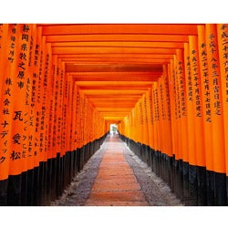 "Stewart Parr ""Japanese Fushimi Inari Shrine"" Small Unframed Photo Print"