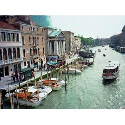 Stewart Parr 'Venice, Italy - the main canal' Unframed Photo Print