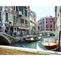 Stewart Parr 'Venice, Italy - an inner canal' Small Unframed Photo Print