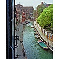 Stewart Parr Cityscape 'Venice, Italy - Canal from Hotel Window' Unframed Photo Print