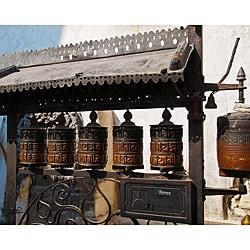 Stewart Parr 'India - Buddhist Prayer Wheel' Unframed Photo Print